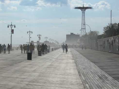 sandstorm at coney Island