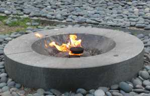 eternal flame at the end of June
