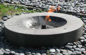 eternal flame in mid-July