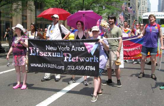 The New York Area Bisexual Networks with banner