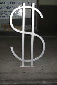 Wall St. Dollar Sign