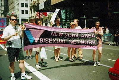 New York Area Bisexual Network banner