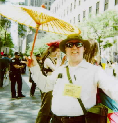 R. Paul Martin at the 1999, Pride March