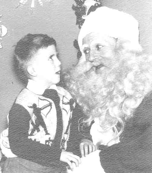RPM with Santa in 1951